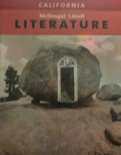 9780618983537: McDougal Littell Literature California: Student's Edition Grade 07 2009