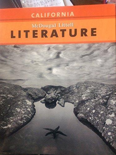 Literature Grade 9: Mcdougal Littell Literature Florida: Corporate Author-ML
