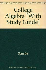 Aufmann College Algebra Plus Student Solutions Manual Sixth Edition: Houghton Mifflin Company