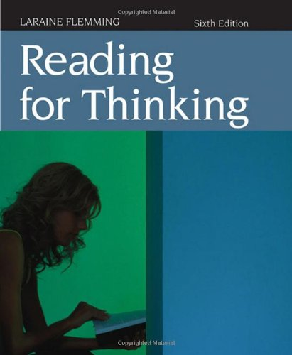 Flemming Reading For Thinking Sixth Edition: Laraine E. Flemming