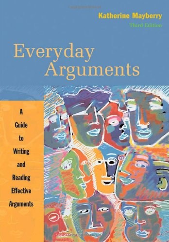9780618986750: Everyday Arguments: A Guide to Writing and Reading Effective Arguments
