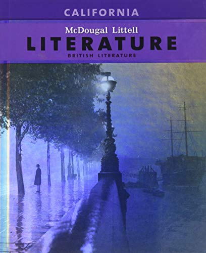 9780618988495: McDougal Littell Literature: Pupil's Edition British Literature CA 2009