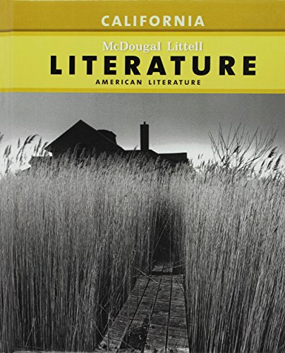 9780618988617: McDougal Littell Literature: Pupil's Edition American Literature CA 2009