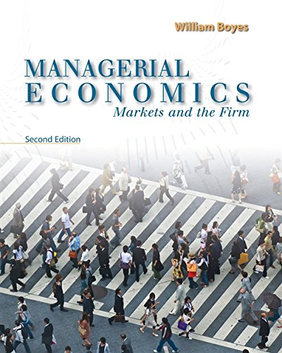 Managerial Economics: Markets and the Firm: Boyes, William