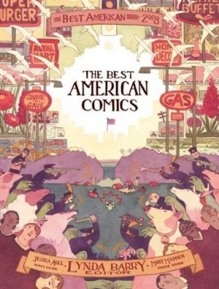 9780618989768: The Best American Comics 2008