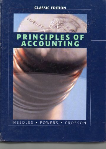 9780618989980: Principles of Accounting Classic Edition