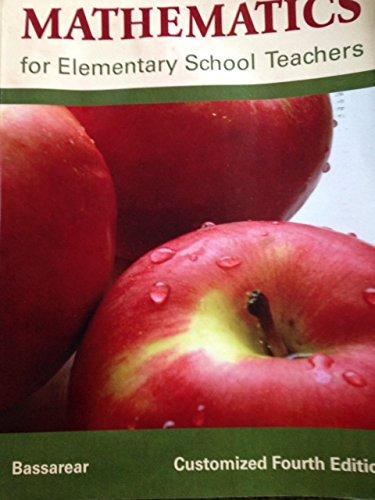 9780618992294: Mathematics for Elementary School Teachers