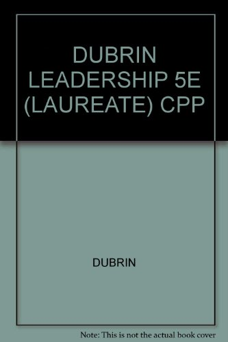9780618997510: Leadership: Research Findings, Practice and Skills (Custom Book)