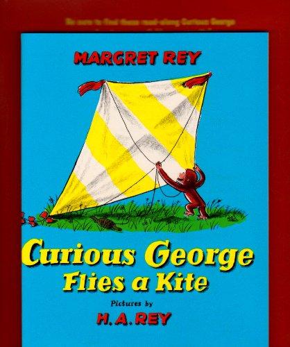 9780618998845: Curious George Flies a Kite Book & CD