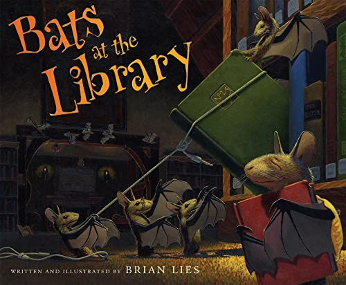 9780618999231: Bats at the Library