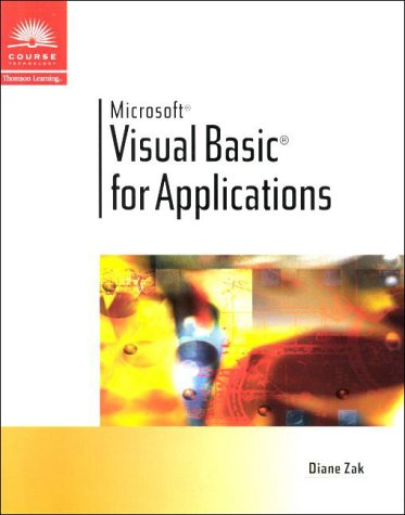 9780619000202: Visual Basic for Applications