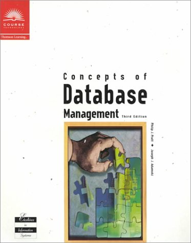 9780619000578: Concepts of Database Management
