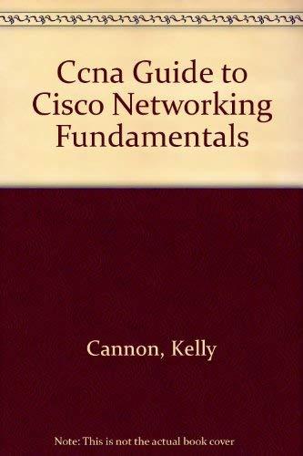 9780619000912: CCNA Lab Manual for Cisco Networking Fundamentals