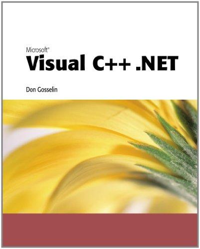 9780619016579: Microsoft Visual C++ .NET