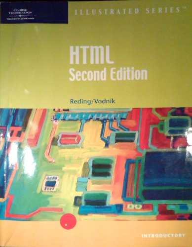 9780619017705: HTML- Illustrated Introductory, Second Edition