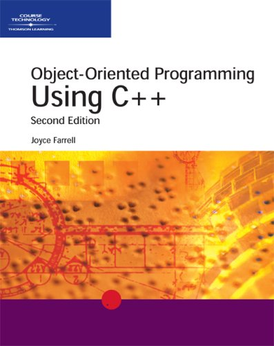 Object-Oriented Programming Using C++, Second Edition (0619033614) by Farrell, Joyce