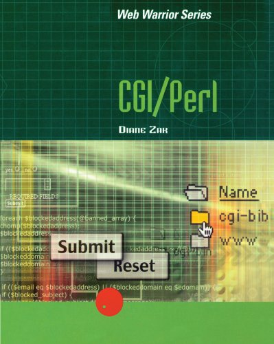 9780619034405: CGI/Perl (Web Warrior Series)