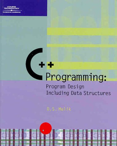 9780619035693: C++ Programming: Program Design Including Data Structures