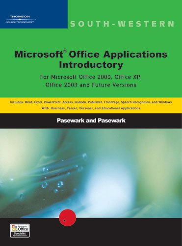 9780619055998: Microsoft Office Applications: Introductory (South-Western Computer Education)