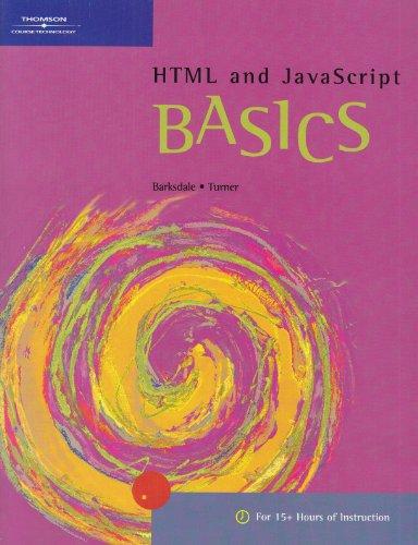 9780619059910: HTML and JavaScript BASICS (BASICS Series)