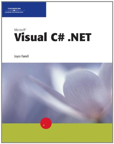 Microsoft Visual C# .NET (0619062738) by Farrell, Joyce