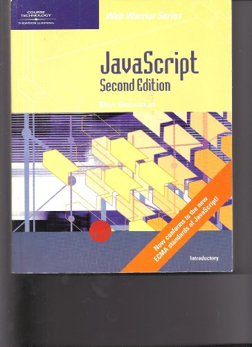 9780619063337: JavaScript - Introductory, Second Edition (Web Warrior Series)