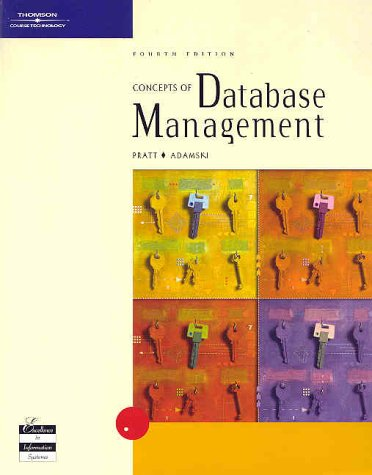 9780619064624: Concepts of Database Management, Fourth Edition