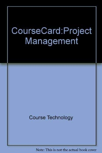 CourseCard:Project Management: Technology, Course