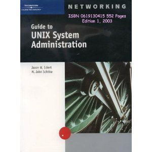 9780619130411: Guide to UNIX Administration