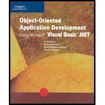 Object-Oriented Application Development Using Microsoft Visual Basic: E. Reed Doke,
