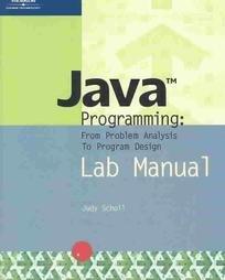 9780619159825: Java Programming: From Problem Analysis to Program Design *LAB MANUAL
