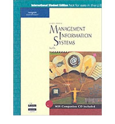 9780619160296: Management of Information Systems