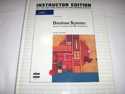 9780619160333: Database Systems: Design, Implementation, and Management