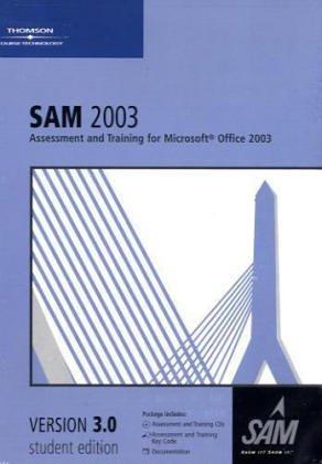 9780619172053: SAM 2003 Assessment and Training 2.5