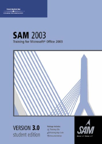 Sam 2003 Training V3.0 (0619172371) by Technology, Course