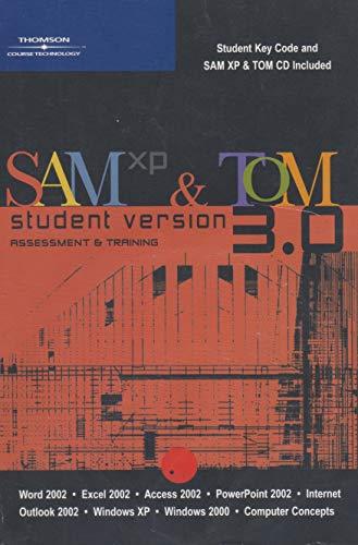 9780619173098: SAM/TOM XP W/SAM-TOM CD V 3.0