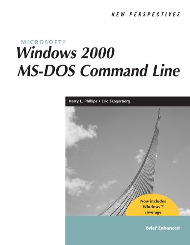 9780619185527: New Perspectives on Microsoft Windows 2000 MS-DOS Command Line, Brief, Windows XP Enhanced (New Perspectives Series)