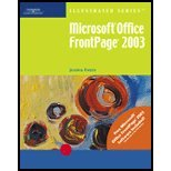 9780619188290: Microsoft Office FrontPage 2003-Illustrated Brief