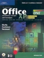 9780619200022: Microsoft Office XP: Introductory Concepts and Techniques, Enhanced (Shelly Cashman Series)