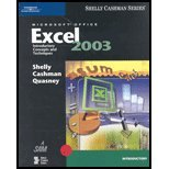 9780619200329: Microsoft Office Excel 2003: Introductory Concepts and Techniques