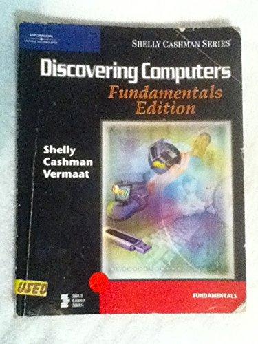 9780619202224: Discovering Computers: Fundamentals Edition