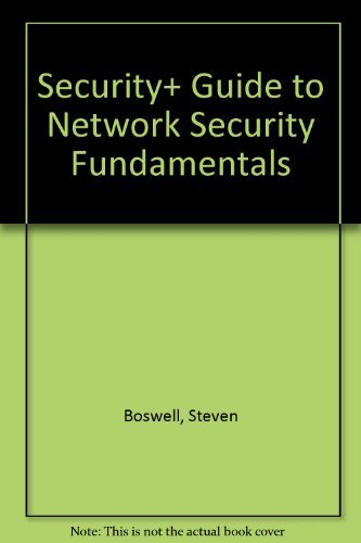 9780619212940: Security+ Guide to Network Security Fundamentals