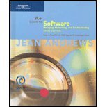 A+ Guide to Software: Managing, Maintaining, and Troubleshooting, 3rd: Andrews, Jean
