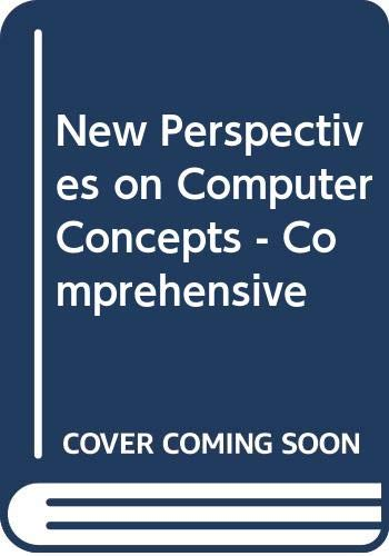 9780619213862: New Perspectives on Computer Concepts - Comprehensive