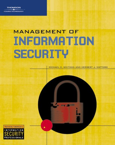 9780619215156: Management of Information Security