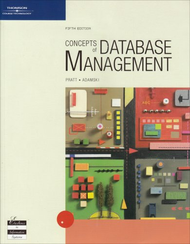 9780619215293: Concepts of Database Management, Fifth Edition (Available Titles Skills Assessment Manager (SAM) - Office 2007)
