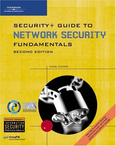 9780619215668: Security+ Guide to Networking Security Fundamentals