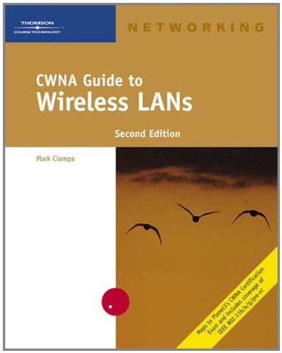 9780619215798: CWNA Guide to Wireless LANs (Networking) Second Edition