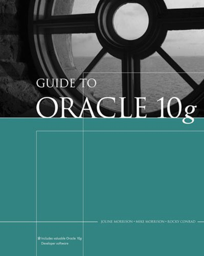 9780619216290: Guide to Oracle 10g (Thomson Course Technology)