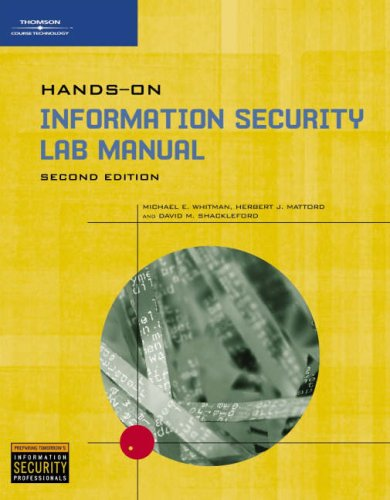Hands-on Information Security: Michael E. Whitman